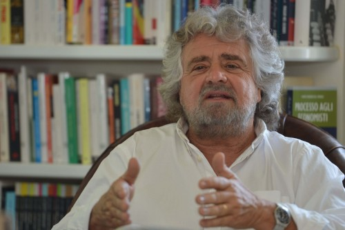 Beppe Grillo  (Photo credit GIUSEPPE CACACE/AFP/GettyImages)
