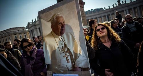 Città del Vaticano, Ratzinger e gli ultimi giorni da Papa
