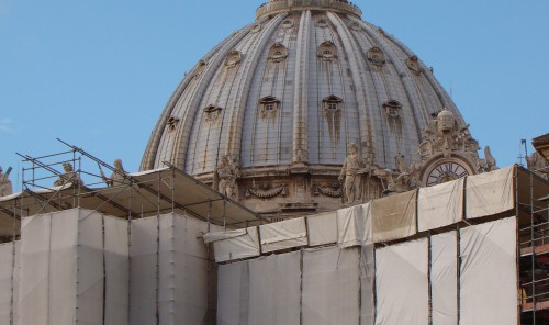 Vatican under construction