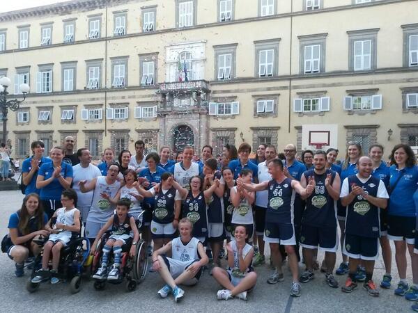 Baskin a Lucca con la nazionale femminile di Bbasket