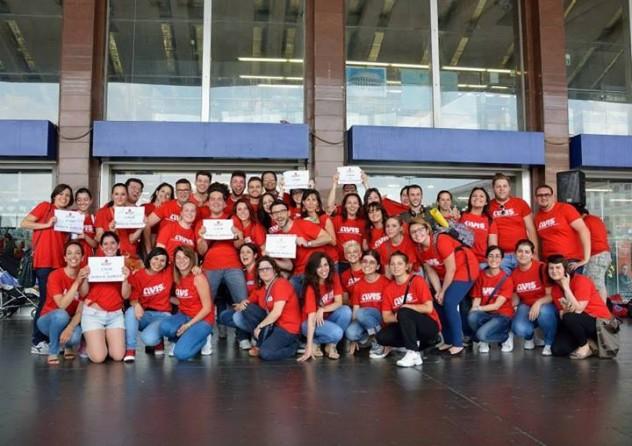 I giovani volontari Avis