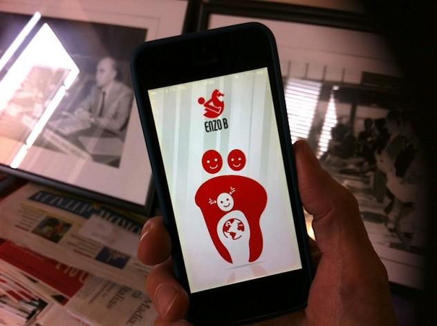 La app di Enzo B sull'adoazione internazionale