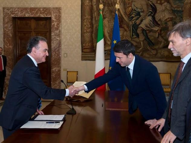 Luigi Bobba, Matteo Renzi, Graziano Delrio