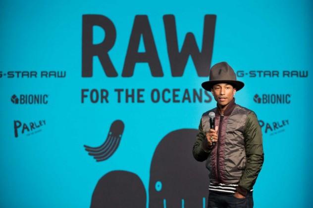 Pharrell Williams, la moda che salva gli oceani