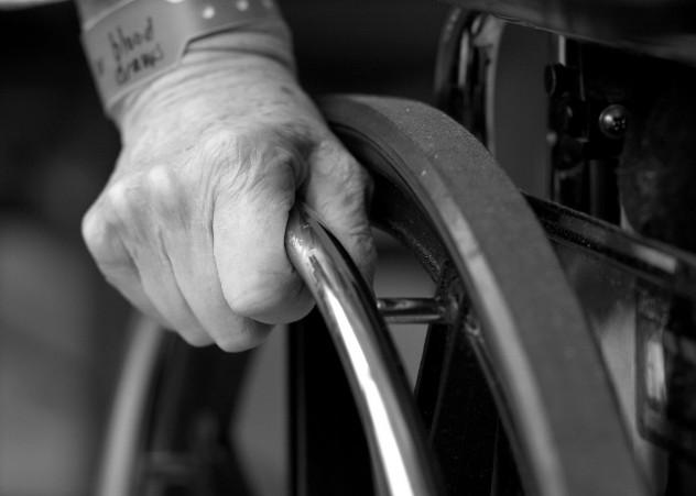 disabilità - foto archivio invisibili