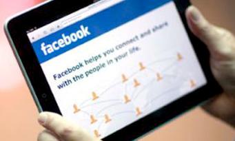 facebook schermo