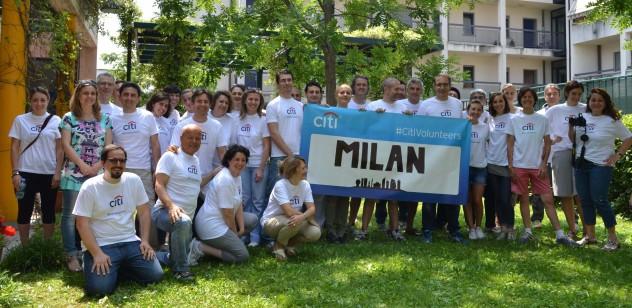 i volontari di citi italia - foto nadia galliano