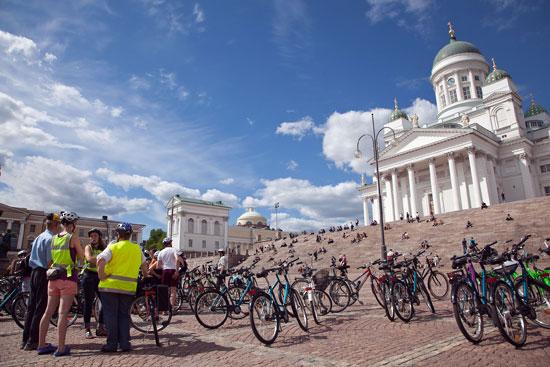 Biciclette a Helsinki