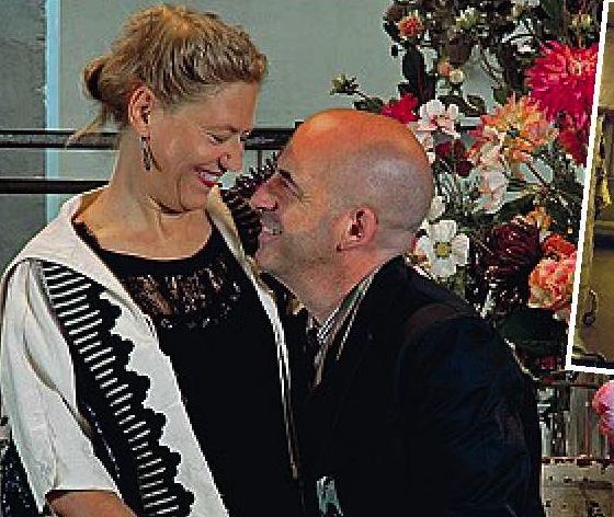 Marito e moglie in azienda
