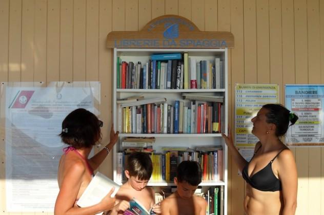 librerie da spiaggia