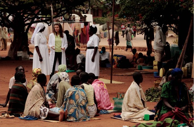 uganda campo medico