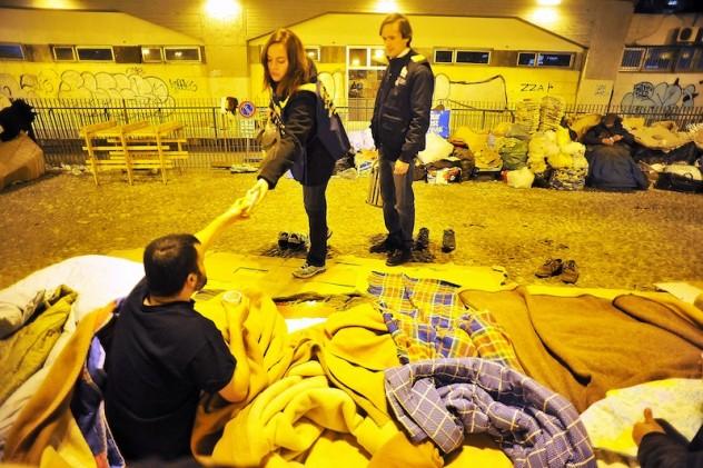Volontariato per il Piano Emergenza Freddo del Comune di Milano