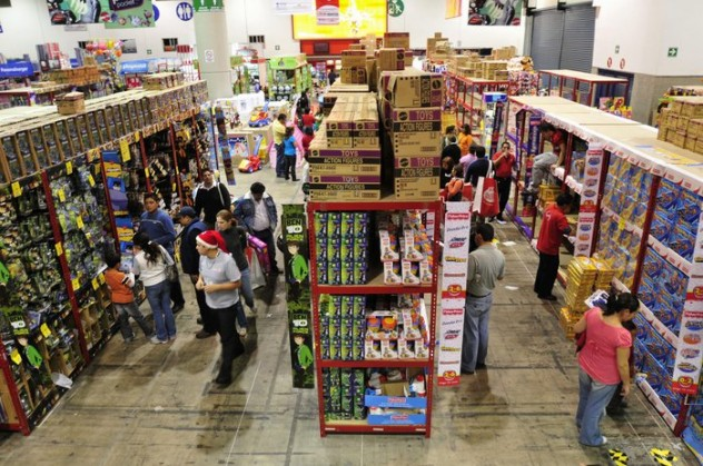 Toy fair in Mexico City