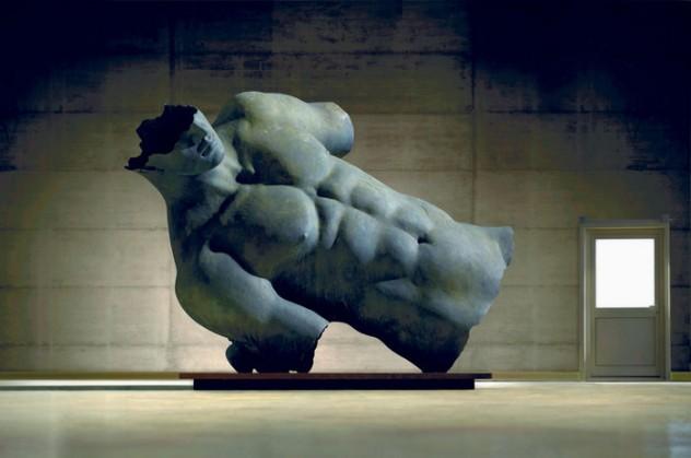 Mitoraj: in omaggio scultore Horne tiene esposta sua opera