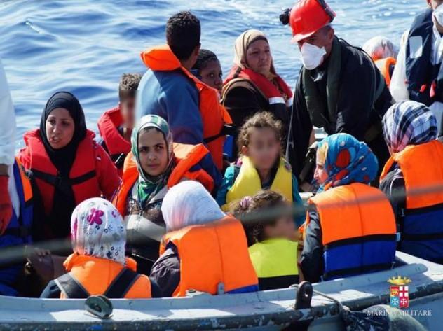 Immigrazione:2mila migranti recuperati da Marina in 2 giorni