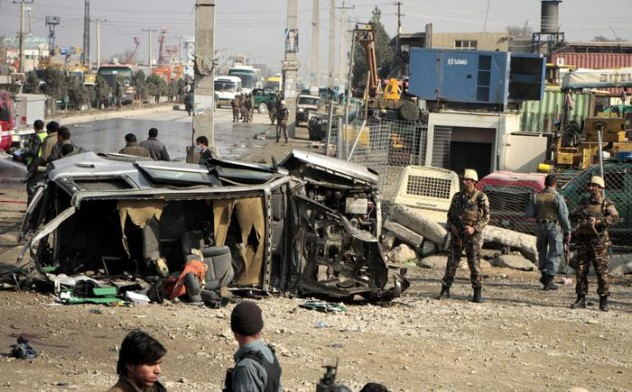 Suicide bomb attack targeted the British embassy vehicle in Kabul