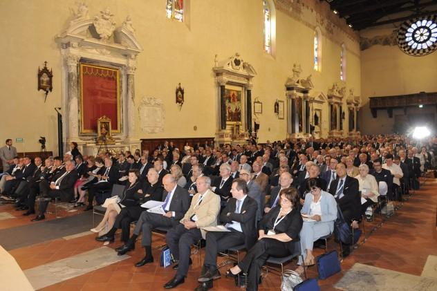 I congressisti nella chiesa di San Francesco