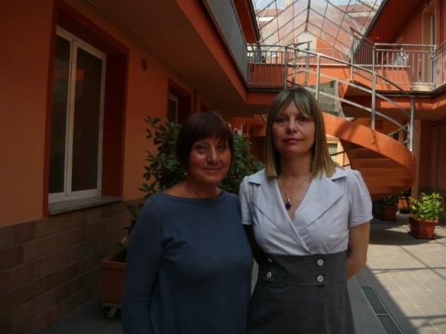 La signora Silvana Marenghi con Lucia Anelli (2)