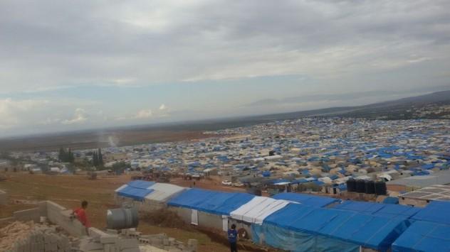Campo sfollati_Siria_MSF