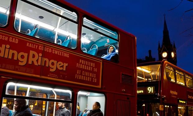 senzatetto bus copertina