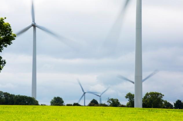 Yelvertoft Wind Farm in the UK