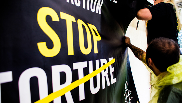 Amnesty International Ireland bring Stop Torture to Electric Picnic Music Festival
