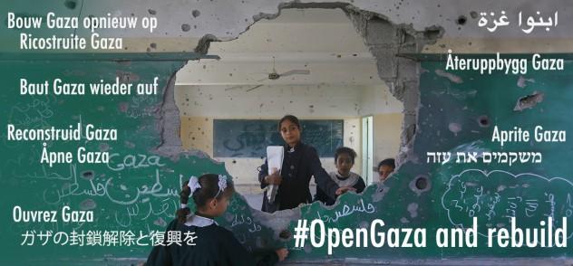 11 year old Manar at her damaged school
