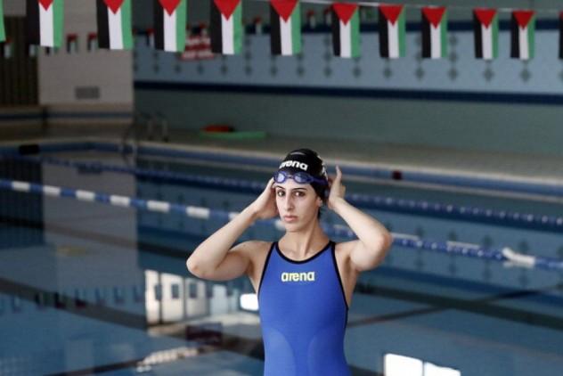 mary-al-atrash foto comitato olimpico Palestinese