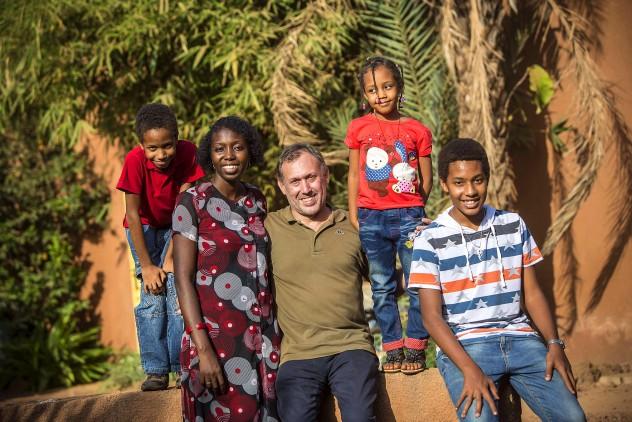 FOCSIV - Marco Alban con la sua famiglia