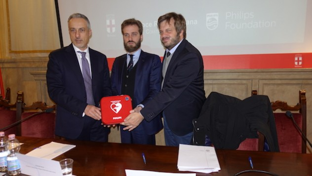 2. Stefano Folli, Luigi Maraghini Garrone, Assessore Pierfrancesco Majorino_Conferenza Stampa C4C_30 gennaio 2017