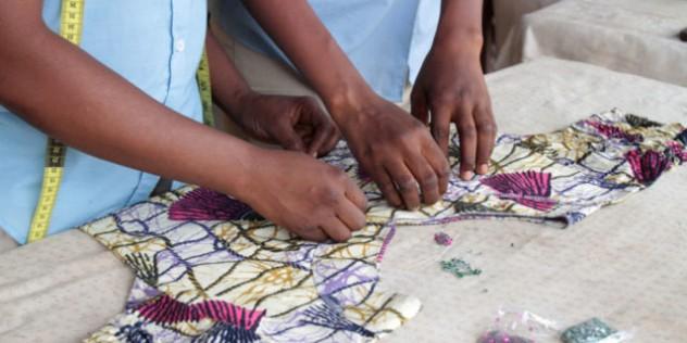 Atelier de couture. Formation.