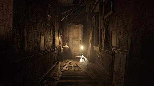 resident evil corridoio