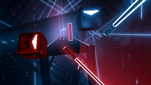 Beat Saber Quest Screenshot 01