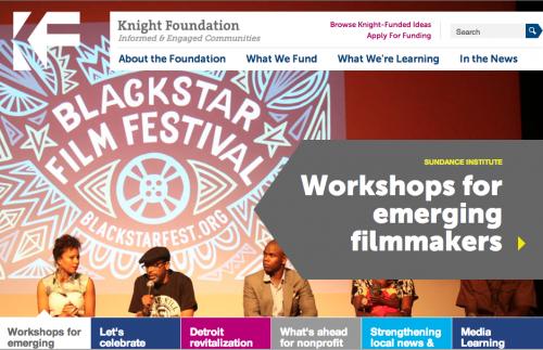 knight foundation fellowship