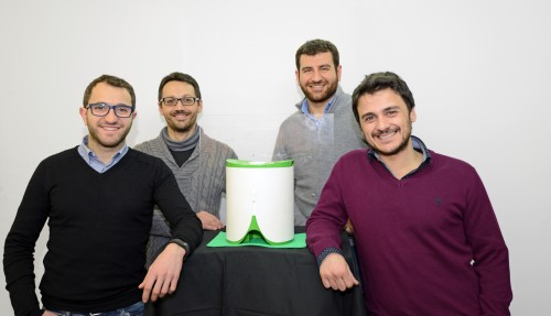 Engineering team: Alessandro Gallo, Daniele Galati, Francesco Spadafora, Piergiorgio Valentino