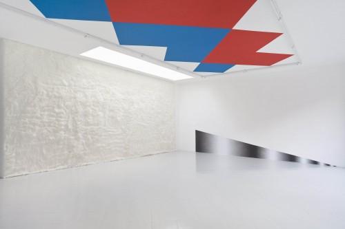1) Warp & Weft, Sylvie Fleury - Alexander Wagner, 2013 - Spazio Cabinet, Milan