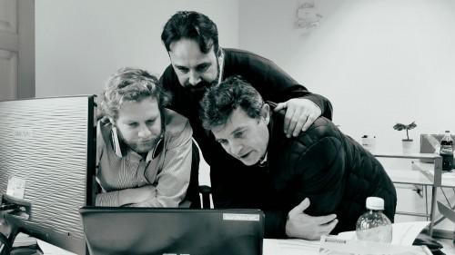 (Al centro: Nicola Pirina, AD Sardex)