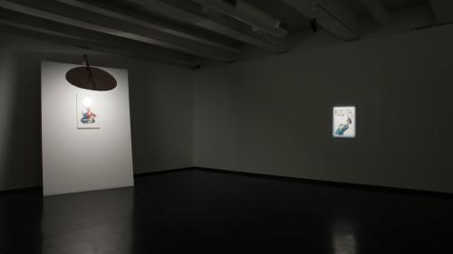 Simone Berti, mostra personale al MACRO, Roma 2017, visione dell'installazione