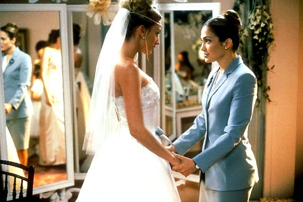 "(Un'immagine del film ""Prima o poi mi sposo"" in cui Jennifer Lopez interpreta una wedding planner)"