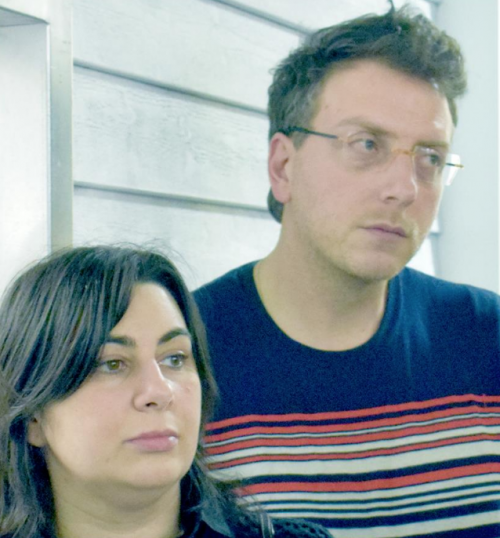 Giuliana Geronimo e Giacomo Giannella, fondatori di Streamcolors