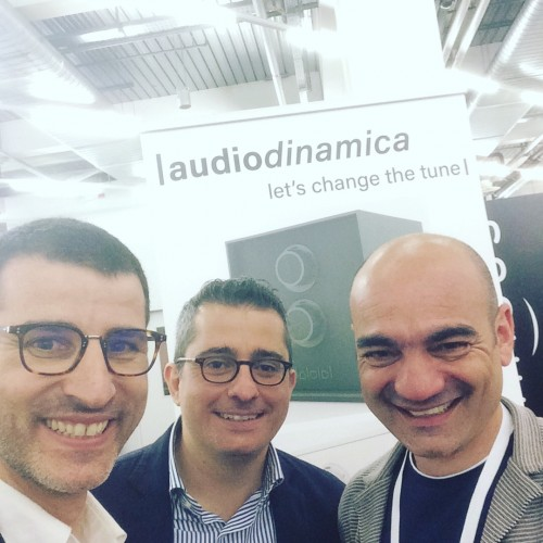 (I fondatori della start-up Audiodinamica)