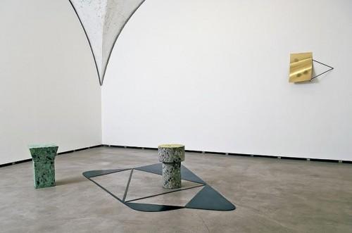 Installation View from Ultima Sigaretta, 2011, at Federica Schiavo Gallery, Roma, ph Giorgio Benni, courtesy Federica Schiavo Gallery