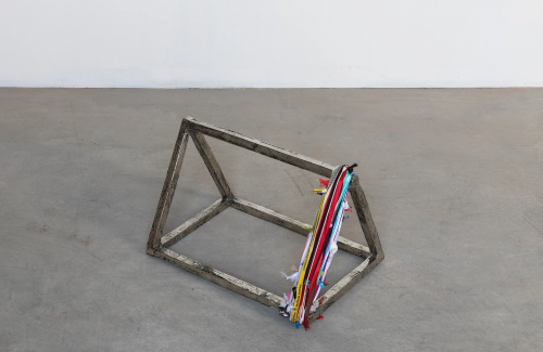 Francesco Arena, Prism with Perimeter, 2018