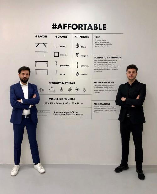 #AfforTable - Dario Brivio e Francesco Cazzaniga