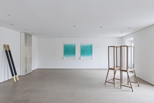 installation view, Davide Allieri, Duet, Rita Urso gallery