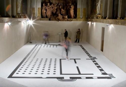 Walkabout, 2008, tappeto, legno