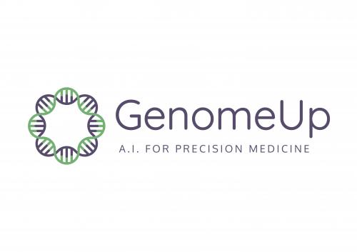 Logo GenomeUp con payoff