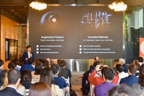 Il pitch di Kellify al parterre degli investitori a Shanghai.