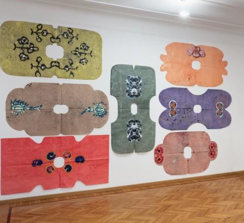 Lupo Borgonovo, installation view, Monica De Cardenas
