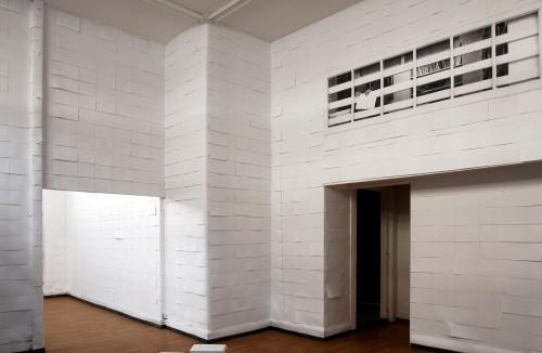Millionnaire - 3307 fotocopie su muro - dimensioni ambientali 2007
